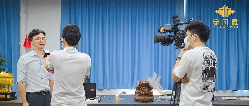 凤凰卫视专访