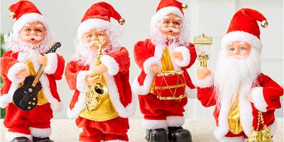 圣诞音乐公仔