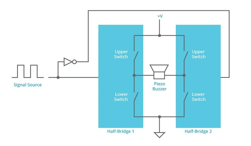 半桥或全桥驱动器电路