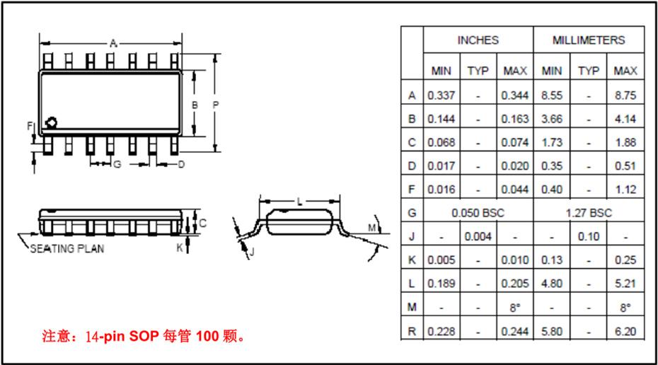 NY8B062D-SOP14封装