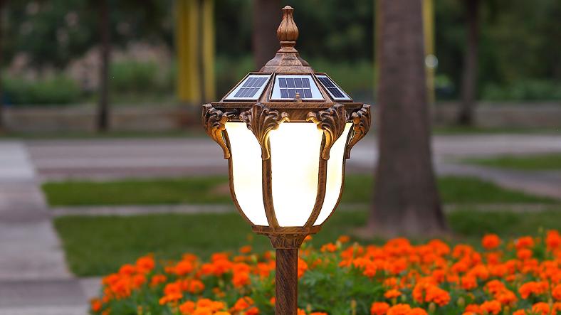 太阳能草坪灯方案开发