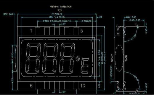 LCD显示驱动芯片