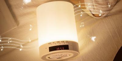 蓝牙音箱七彩小夜灯方案开发