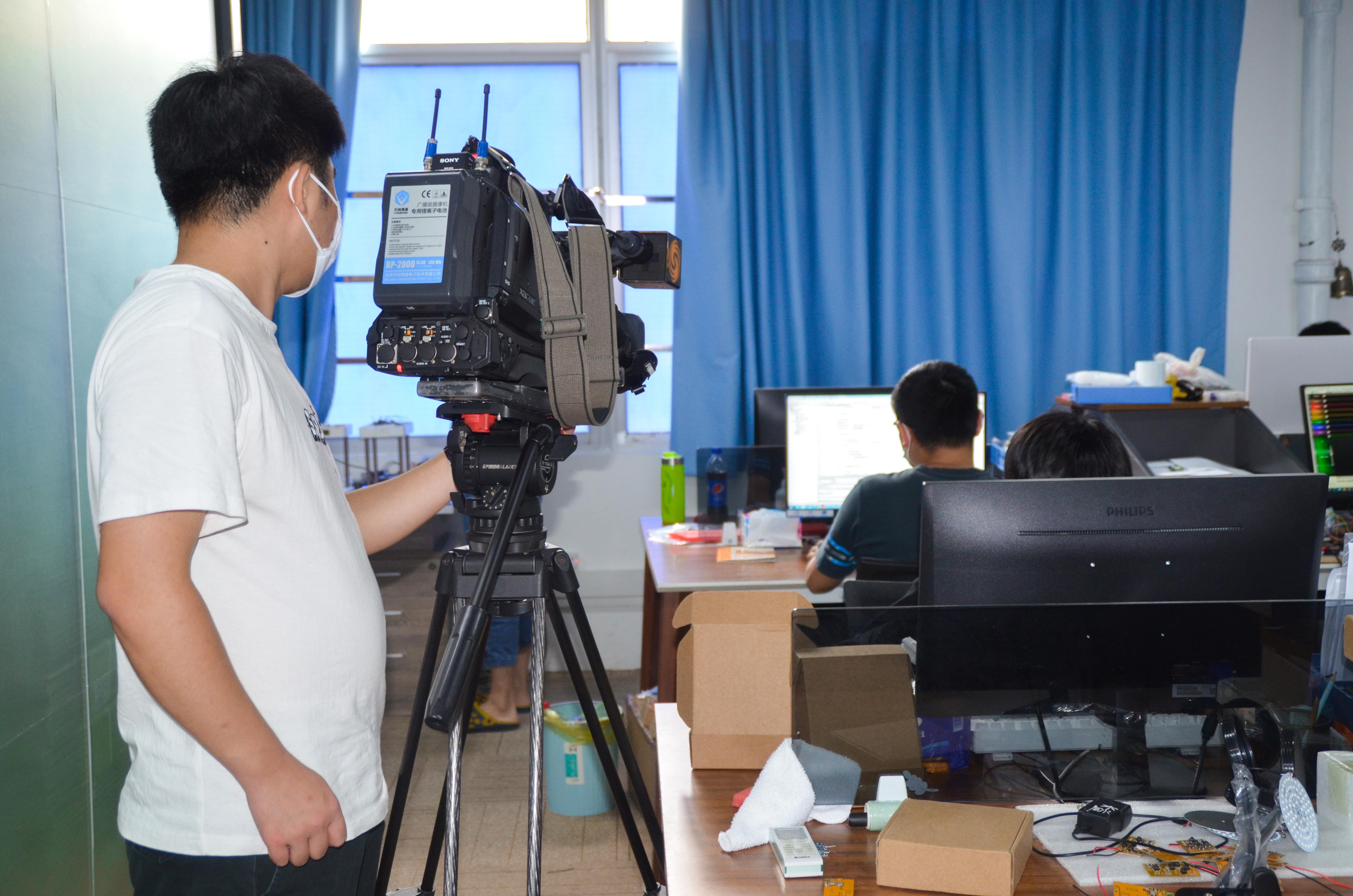 节目组拍摄开发工程部